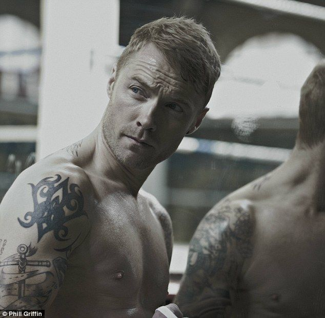 Ronan Keating gets in the ring for steamy calendar shoot as he prepares to release first new solo material in SIX YEARS #ronankeating #sexy #boyzone