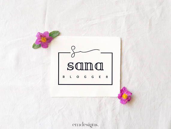 Logo à personnaliser,Logo préfabriqué,Logo Elégant,Logo Pré-fait,Logo pour petite entreprise, Image de marque, Logo kit, Logo moderne, Logo