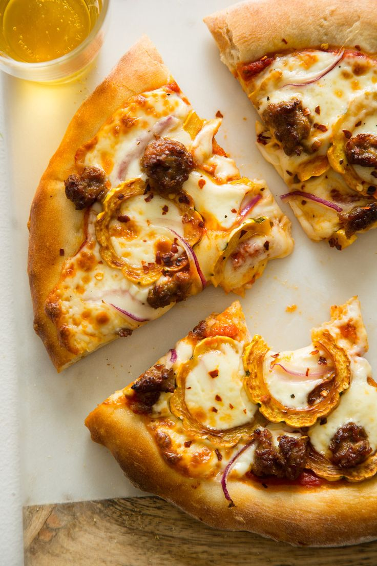 Big pizza sausage trinity