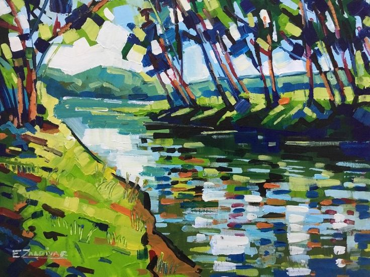 Best 25 River painting ideas on Pinterest