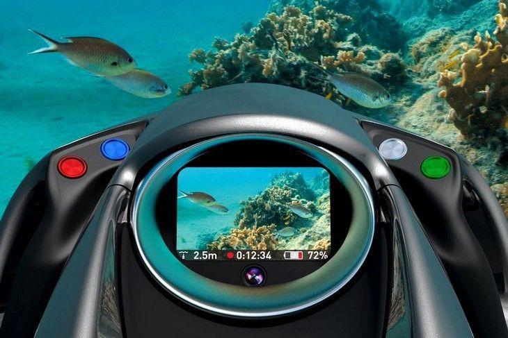 Partagez vos plongées avec le scooter sous-marin Seabob
