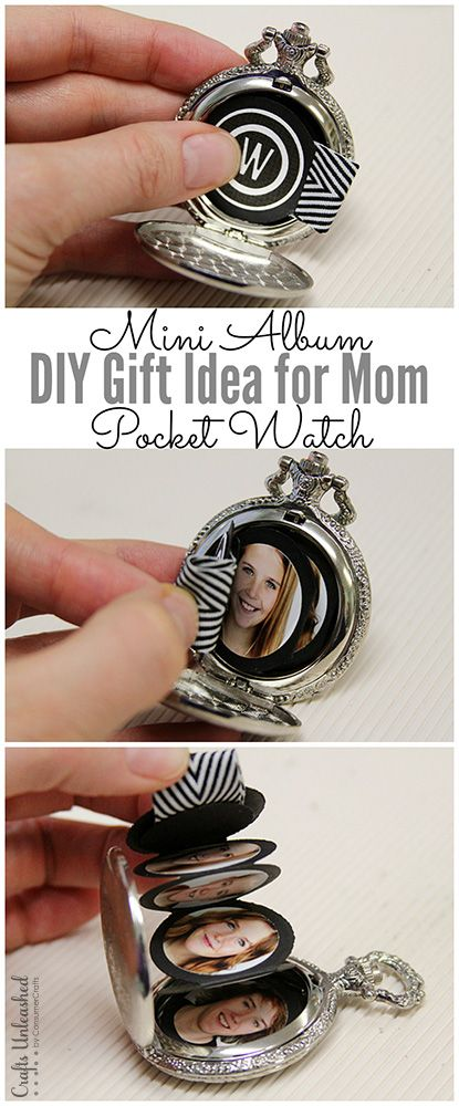 Unique Christmas Gifts For Mom Part - 26: DIY Gift For Mom: Mini Album Project - Crafts Unleashed
