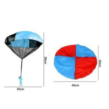 Funny Throwing Parachute Toys Outdoor Children's Educational Toys Sale - Banggood.com