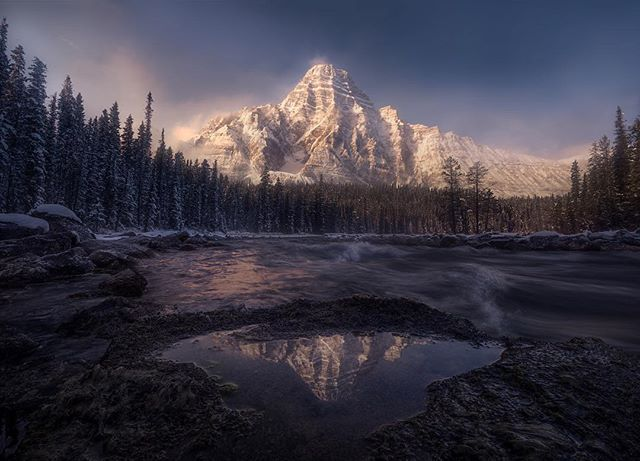 The elements that make the Canadian Rockies a year-round dream destination converge in perfect harmony in Banff National Park. Established after railway workers stumbled onto a thermal hot spring Banff became Canada's first national park in 1885 and today is part of a UNESCO World Heritage Site.    @mattymeis #dreamdestinations