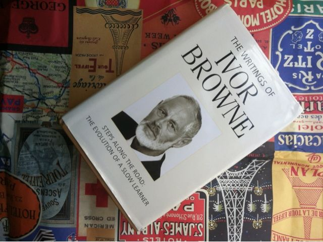 The Writings of Ivor Browne Incredible thought provoking accompaniment to my training in art therapy. Although does not directly focus on art as a therapeutic tool, Ivor has my mind racing with links and worldly theories that we can all relate to. Controversial and yet ahead of his time. Great read, Enjoy!