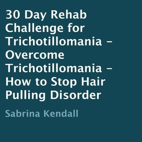 46 best Coping with trichotillomania images on Pinterest
