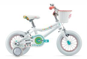 Giant Liv Adore 12 Inch Girls Bike 2017 Small on size big on fun. A lightweight aluminium frame with a low stand-over height 12-inch wheels linear pull brakes and fun colours make Adore the perfect riding companion for driveway and beyond.  http://www.MightGet.com/april-2017-1/giant-liv-adore-12-inch-girls-bike-2017.asp