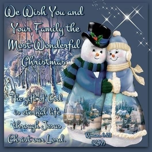 Wishing You And Your Family A Wonderful Christmas