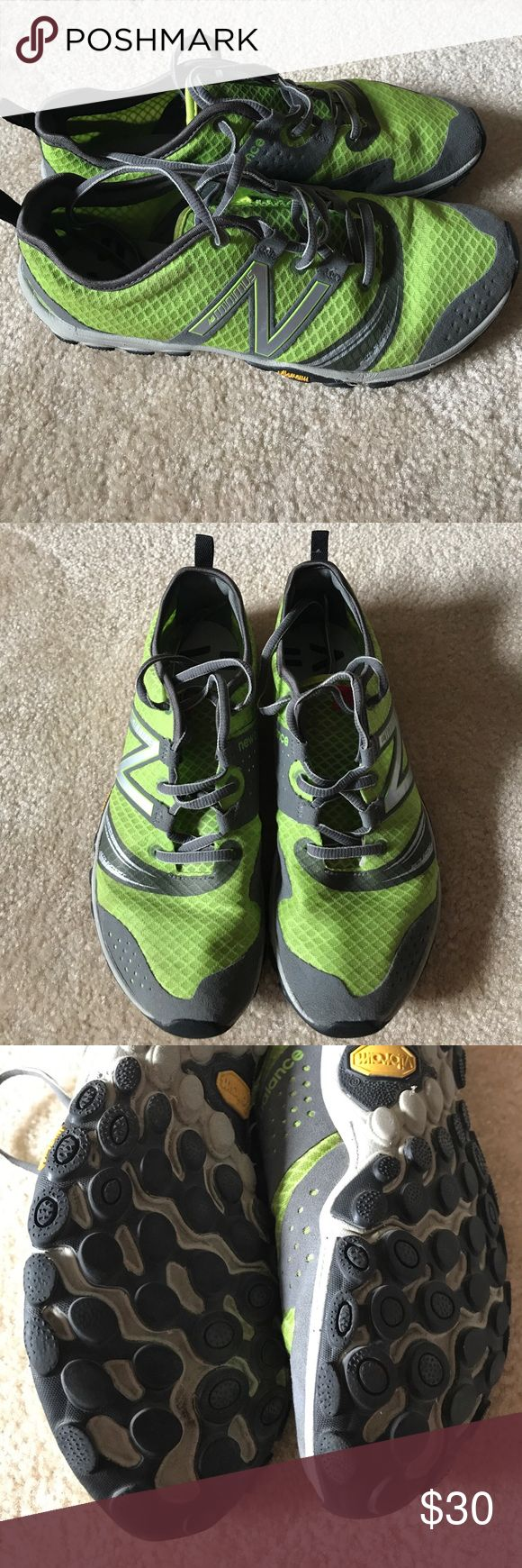 New Balance minimus running/Crossfit, vibram sole Used, good condition. New Balance Shoes Athletic Shoes