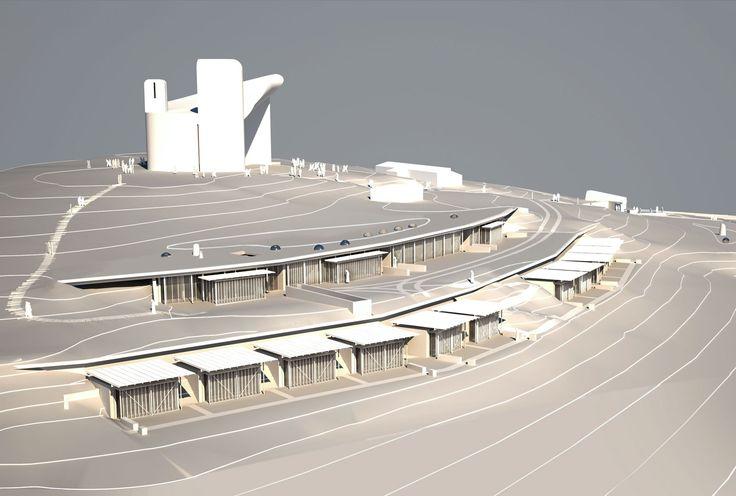 Renzo Piano at Ronchamp