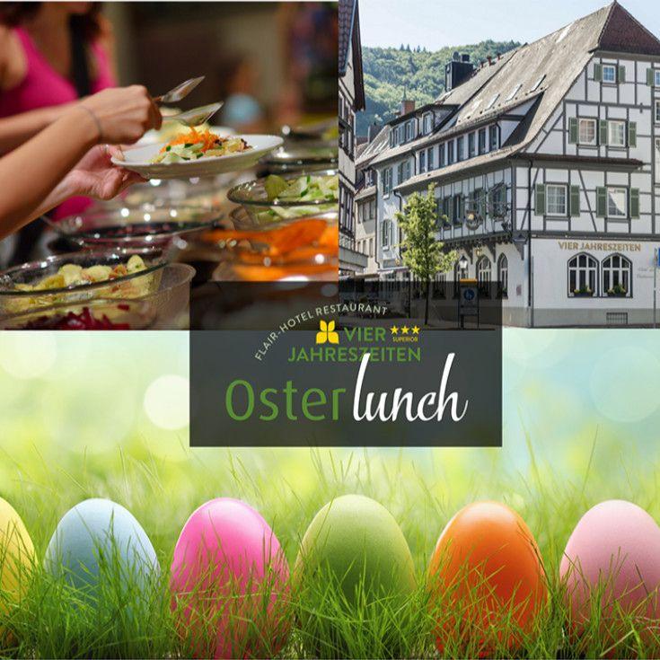 Oster Lunch Buffet Am 12 04 2020 Von 11 30 Uhr Bis 14 30 Uhr Macht Das Flair Hotel Vier Jahreszeiten In 2020 Hotel Vier Jahreszeiten Restaurant Bad Restaurant