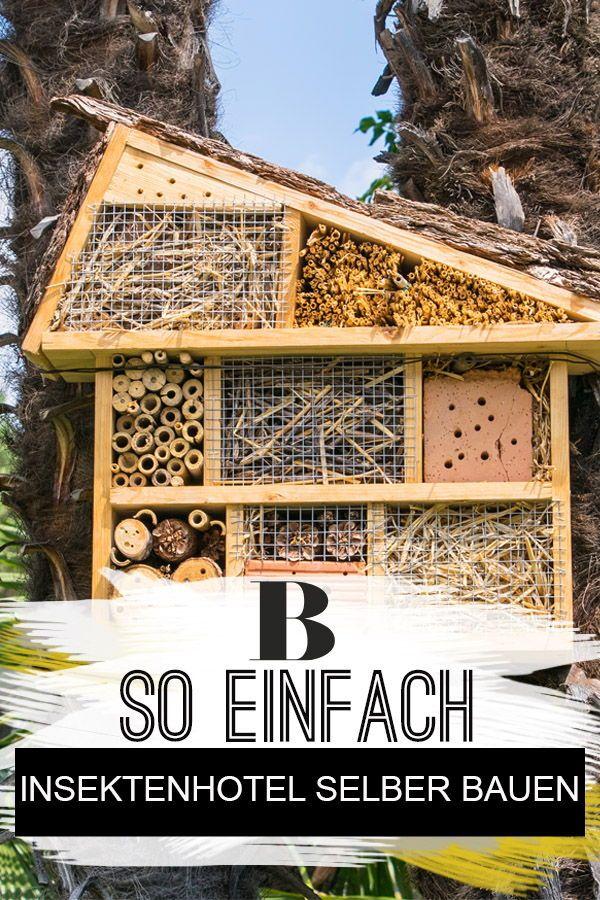 Insektenhotel Selber Bauen So Einfach Geht S Insektenhotel