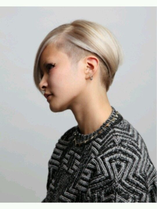 I like this bob undercut, it relieves some  thin but heavy hair