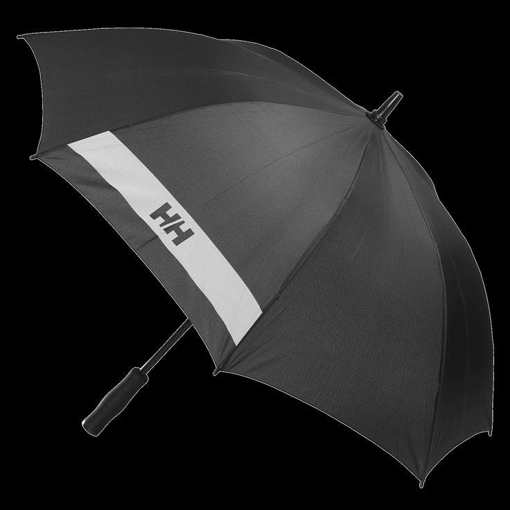 Kunnon sateenvarjo vie pitkälle, tämä on Helly Hansenin. Suositushinta 40,00 euroa #hellyhansen