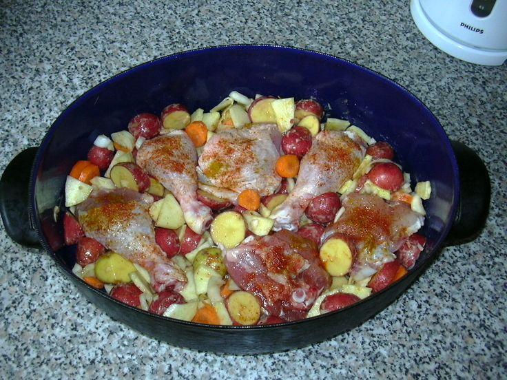 Kuře po řecku :: Domací kuchařka - vyzkoušené recepty