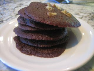 Brownie Thins (cookies) | TastingSpoons | Cookie Exchange | Pinterest ...