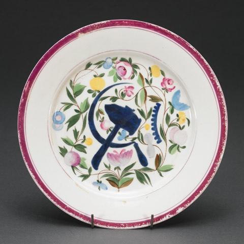russian propaganda porcelain