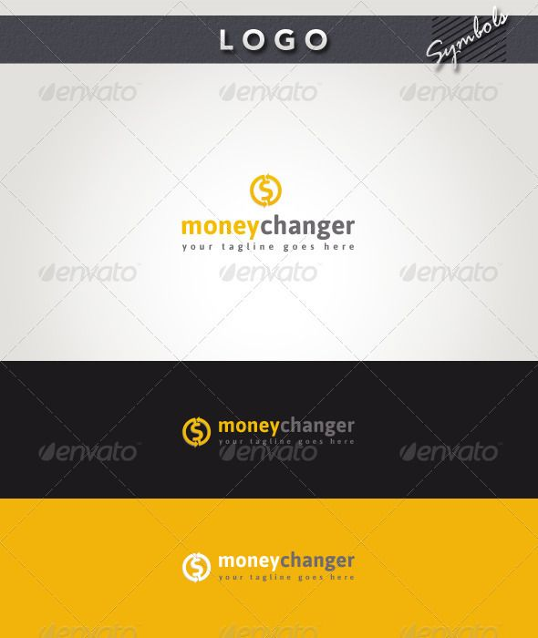 Money Changer Logo — Photoshop PSD #blog #holding • Available here → https://graphicriver.net/item/money-changer-logo/2694487?ref=pxcr