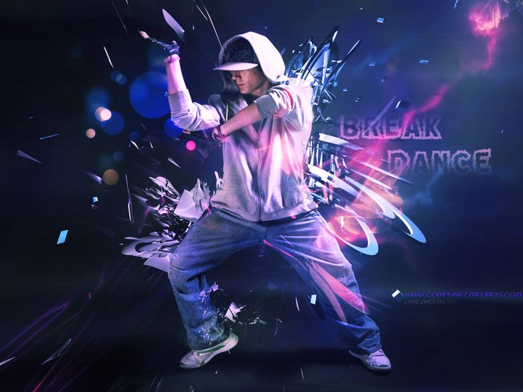 Pin Break Dance Wallpaper Version By Ahmedartjpg on ...