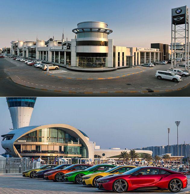 Fascinating Look Inside Abu Dhabi Motors the World's Largest BMW Dealership