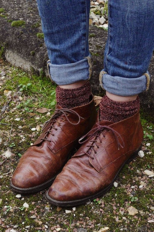Yes, i can wear socks with shoes :) by Lady Moriarty