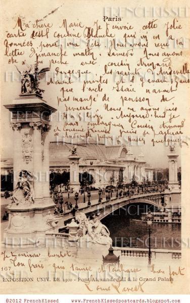 Paris DIGITAL scan Bridge Pont Alexandre by FrenchKissed on Zibbet