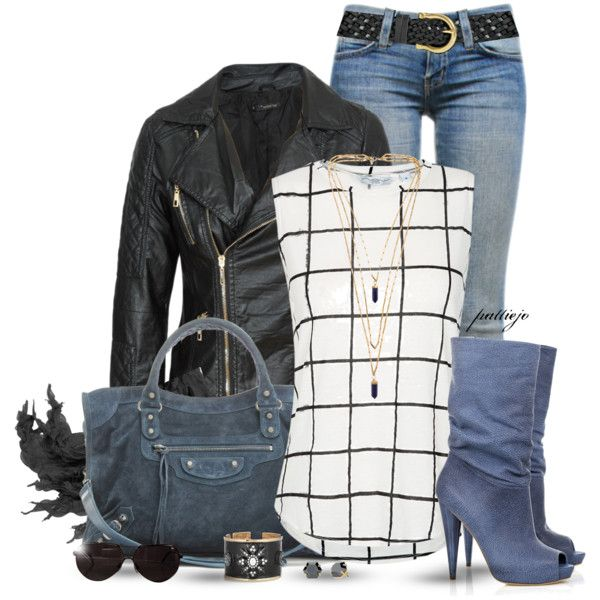 Fall Fashion- tank tops, jackets, jeans, boots, tote bags, bracelets, necklaces, earrings, scarves, sunglasses