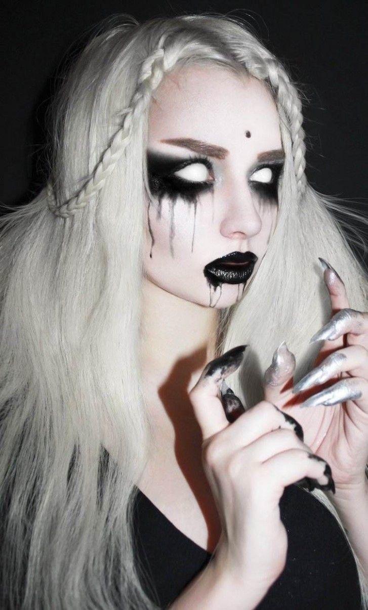 12++ Coiffure de zombie fille inspiration