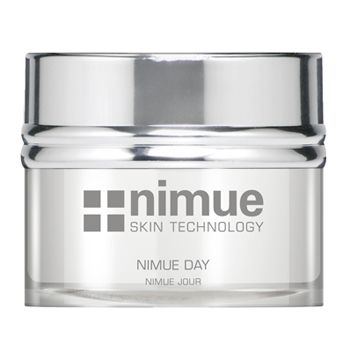 :: Nimue Skin Technology ::  Nimue Day  A light textured day cream formulated with excellent barrier and restoration properties. Contains Alpha Hydroxy Acids and phytoceuticals.  Excellent barrier protection with improved hydration. Gentle improvement in the clarity of the skin. Assists in regulating sebaceous activity.
