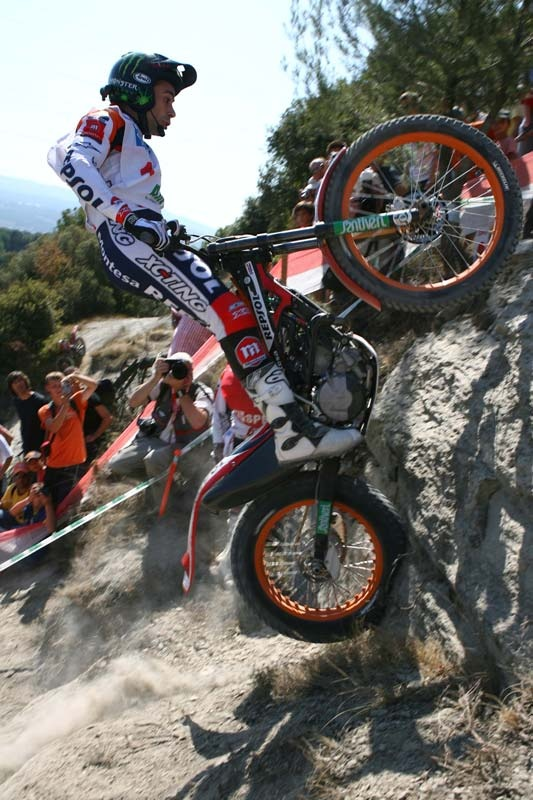 Toni Bou, Trial Champion ... Have you ever ridden on a motorbike? ... Do you like to watch motor cross or similar competitions?