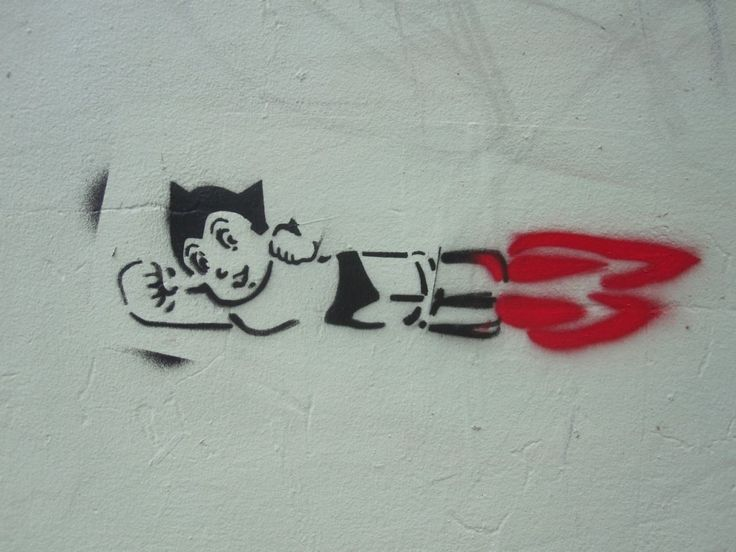 A blog called Darlinghurst Nights has discovered Astro Boy on the wall of Orson & Blake.. Check it out!