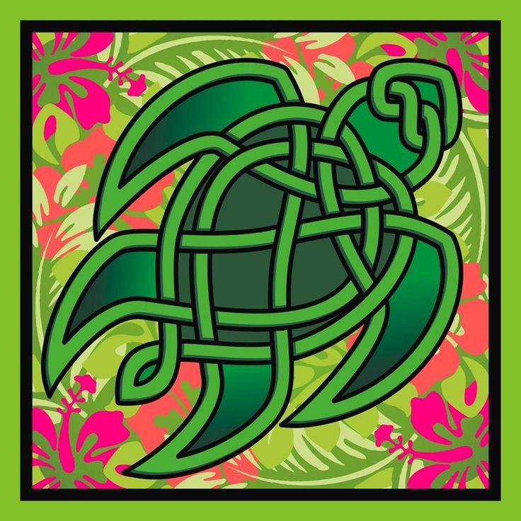 Celtic knot of a Sea Turtle. | CelticArt | Pinterest ...