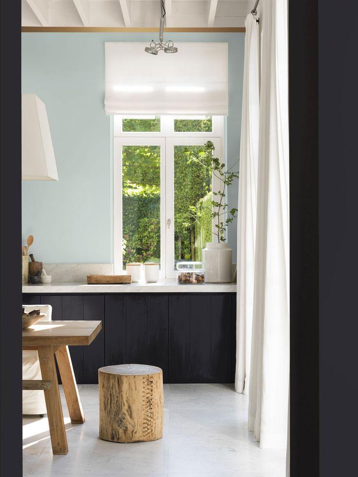 Keuken - Cuisine Levis kleuren: Noorderlicht - Leisteen - Alpaca Couleurs Levis: Aurore Boréale - Schiste - Alpaga