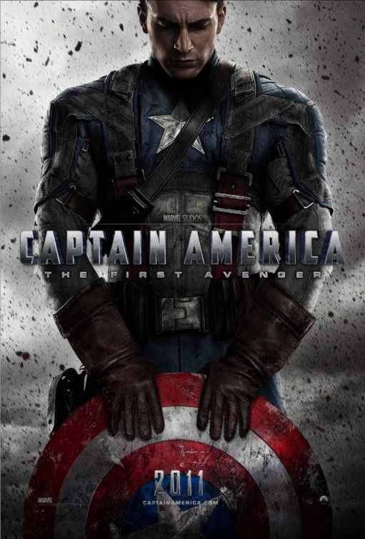Captain America  This was a fantastic movie, I was sad at the end (no happy ending) and they left it wide open for the next movie (The Avengers) but it was a great watch.