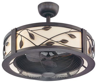 Harbor Breeze Eastview Aged Bronze Ceiling Fan - modern - ceiling fans - Lowe's