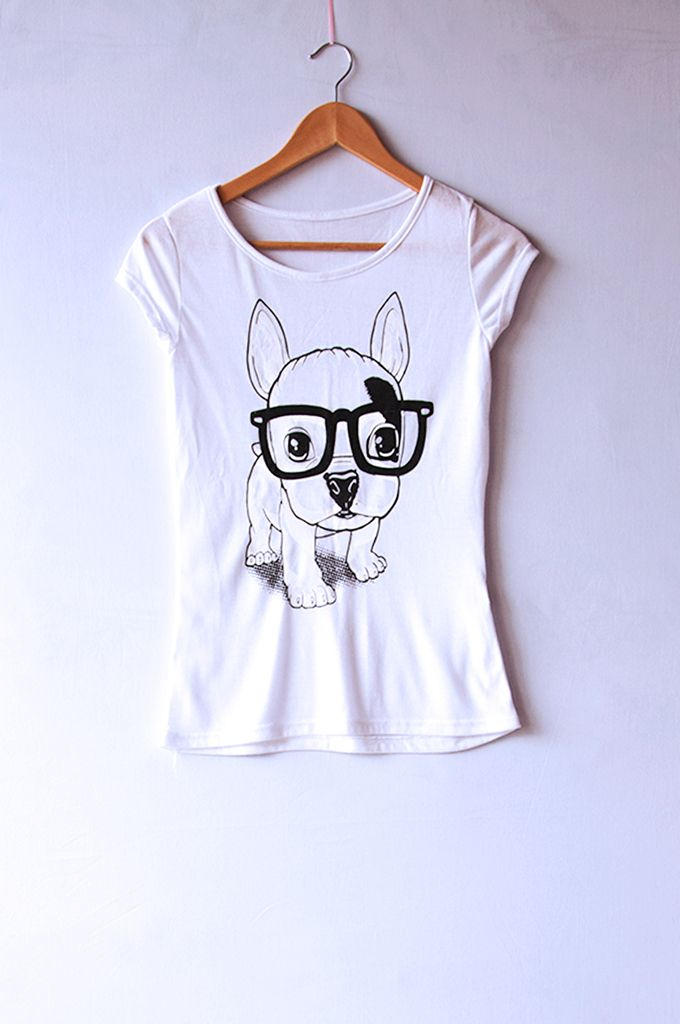 REMERA HIPSTER DOG — Santo Color
