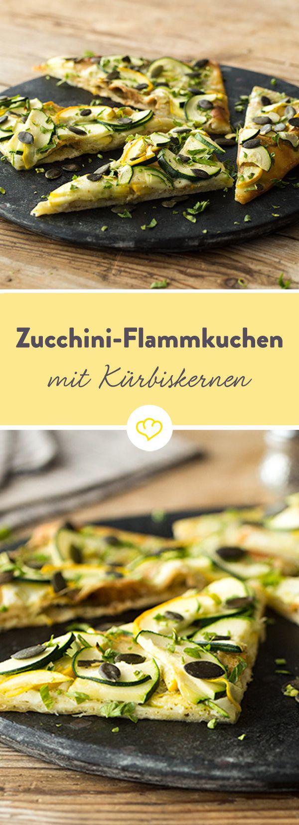 Schnell gemacht mit wenig Zutaten: Zucchini, Pesto, Mozzarella und ein paar…