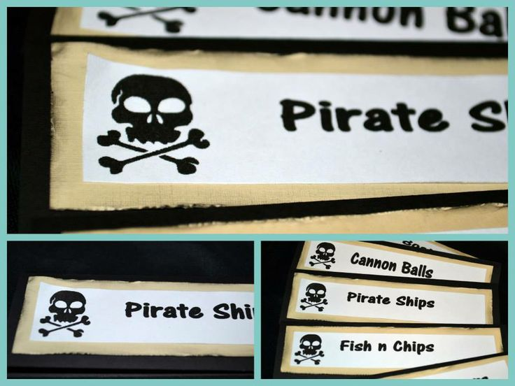 pirate food tents