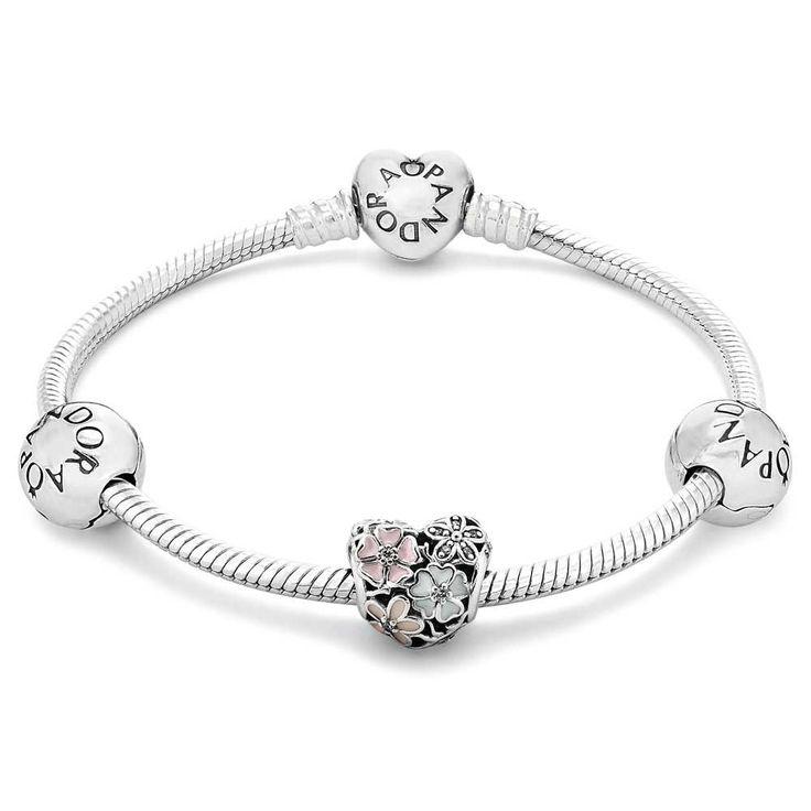 Pandora Silver Poetic Blooms Bundle Bracelet B800259
