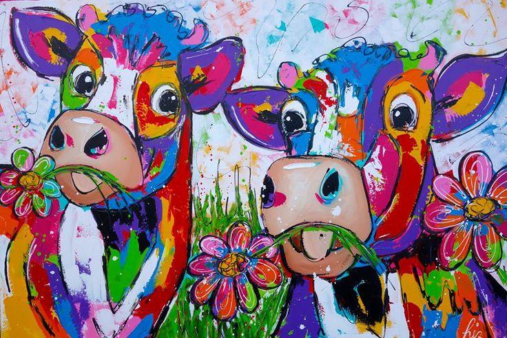 Twee koeien.