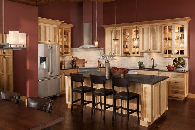 Hickory Cabinets Kitchen | EVA Furniture