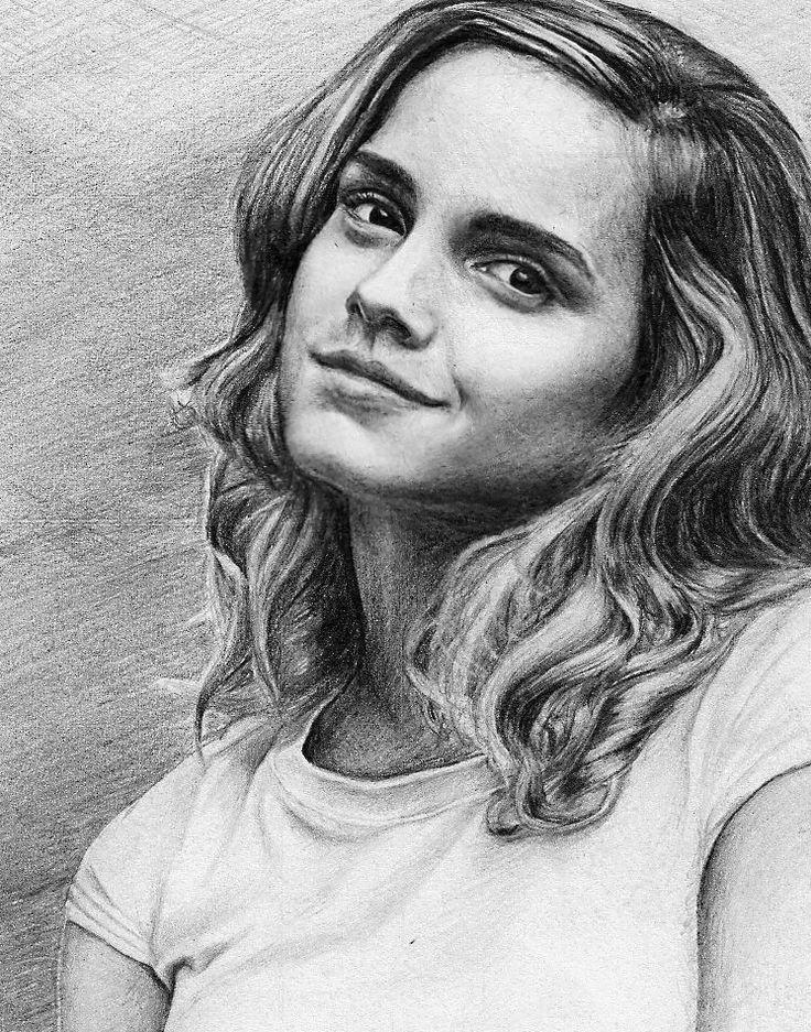 Emma Watson aka Hermione Granger artwork by pencilplane