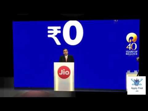 Jio Phone, Free With Rs. 1,500 Deposit, Unlimited 4G Data, Launched by M...