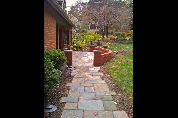 17 best images about walkway and stoop on pinterest - Front door walkways and paths ...