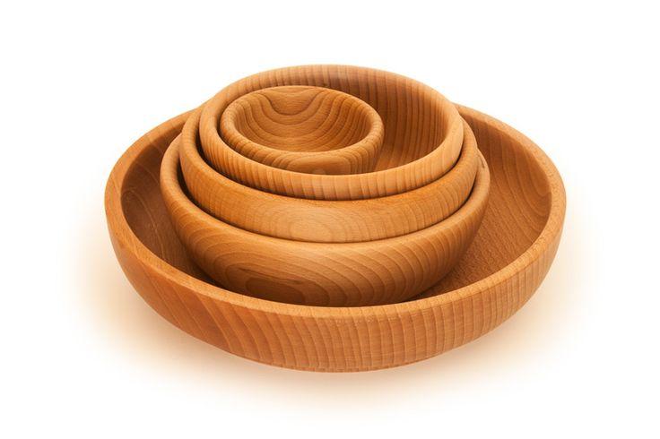 Beech bowls / Miski bukowe