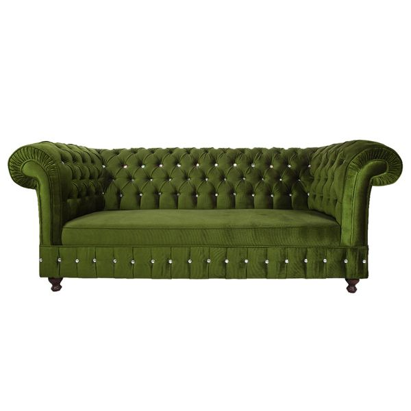 Minimalist 3A Mobilya Sofistike Chesterfield Kanepe 3 320 00 TL In 2018 - Latest Green Chesterfield sofa Awesome
