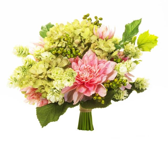 Hop and Dahlia Bouquet