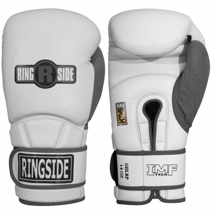 Ringside Gel Sparing Boxing Gloves GELRP - White/Grey