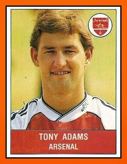 Old School Panini: UK Football Team - Arsenal FC 1990-91