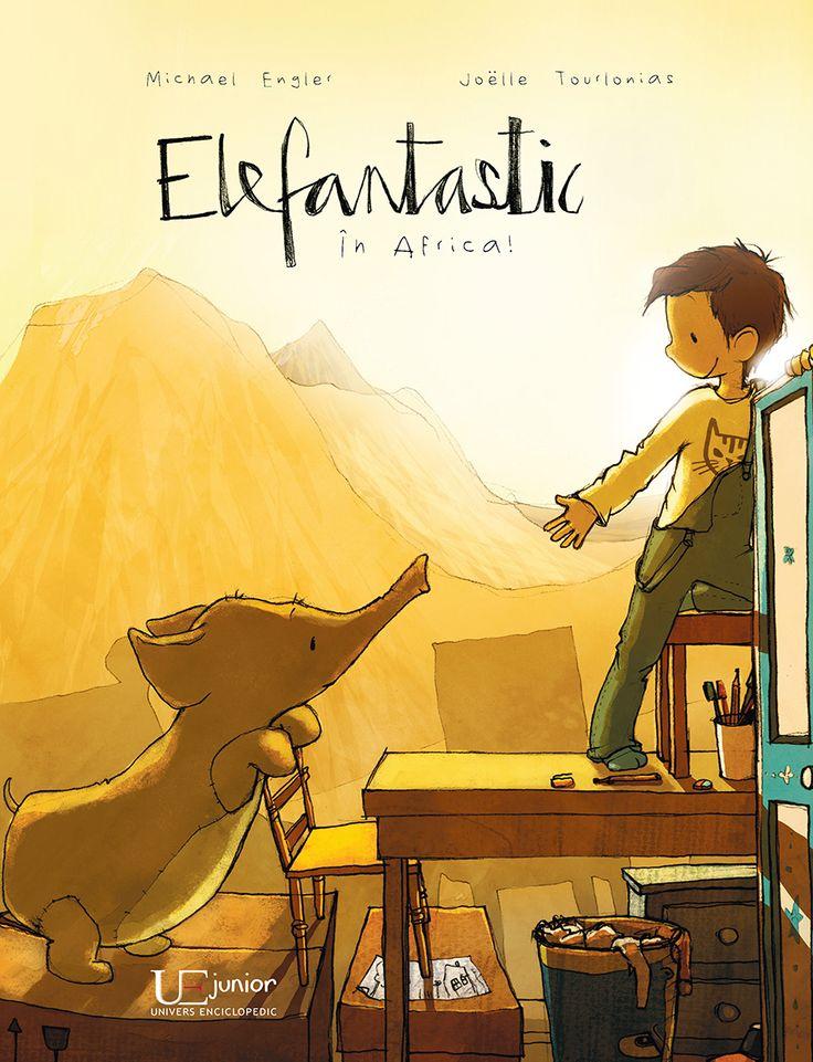 """Elefantastic - A: Michael Engler; I: Joëlle Tourlonias Michael Engler; Varsta: 4-7 ani; """"Un pachet mare – ce grozav! Iar acolo se află un elefant de pluş vorbitor. Lui Anton nu-i vine să creadă ce noroc a dat peste el şi porneşte împreună cu noul lui prieten într-o călătorie plină de aventuri: urcă pe Kilimanjaro, în stepe se întâlnesc cu leii şi se balansează pe liane. Anton petrece o după-amiază palpitantă – până  când mama intră în cameră pe neaşteptate... """""""